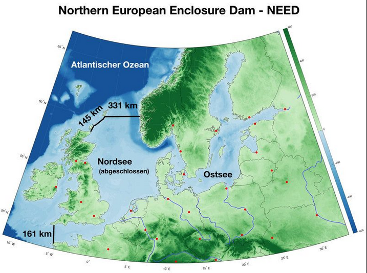 northern european enclosure dam need