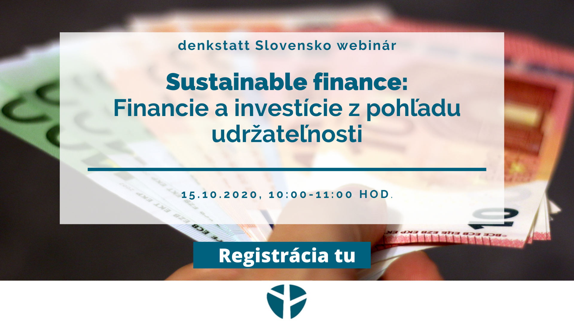 tituln strana sustainable finance webinar ds sk registracia